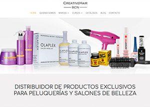 Portfolio Creative Hair Bcn - Servicios El Charko