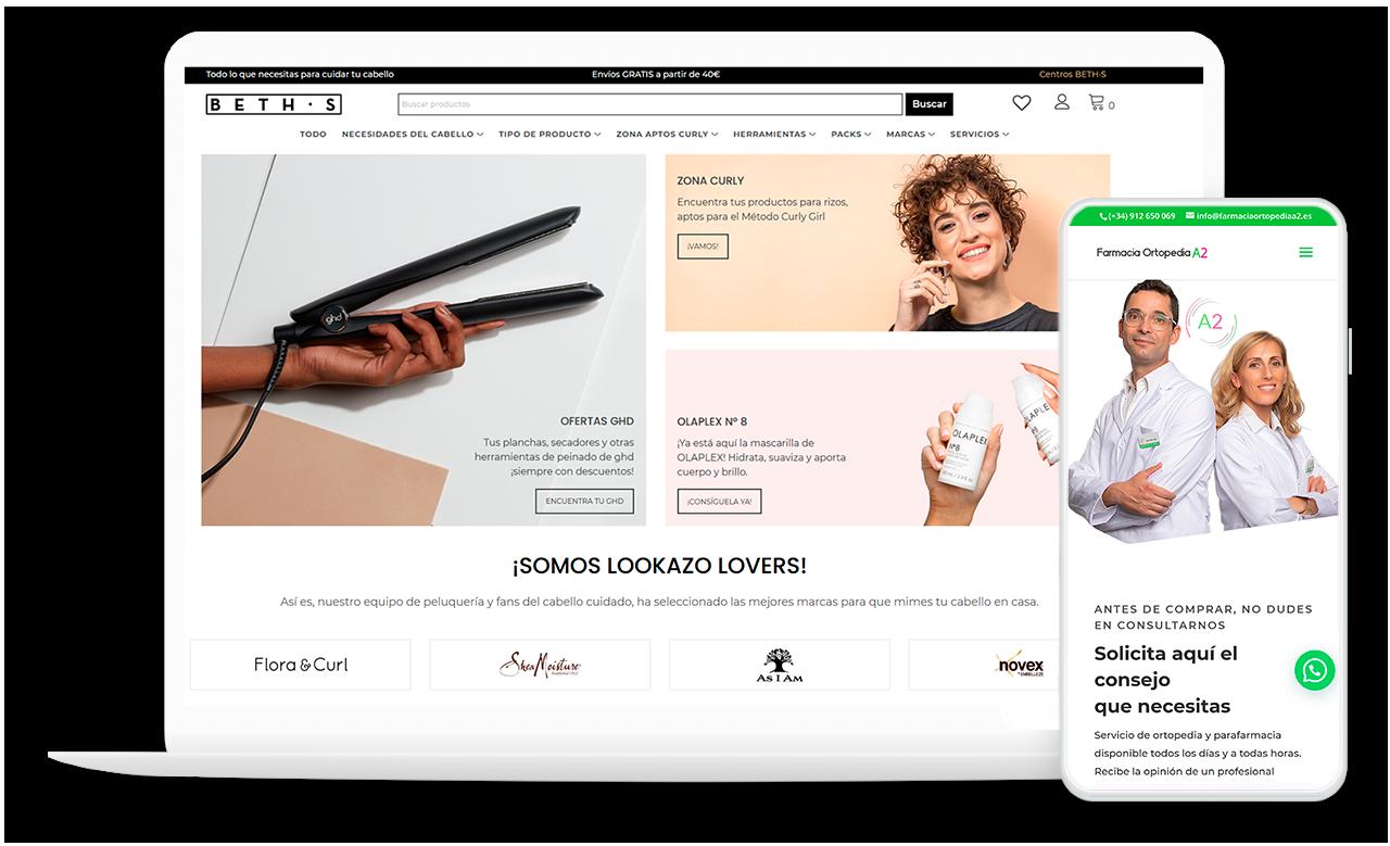 Diseño web El Charko