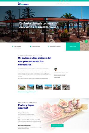 Bar la Marbella- Web multidioma