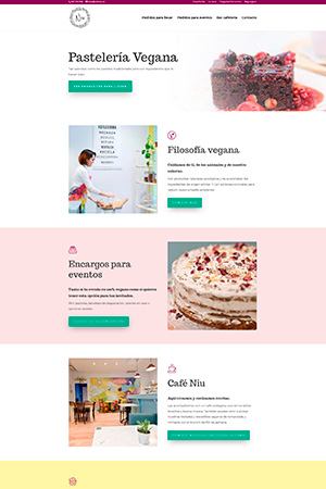 Niu pasteleria vegana - Catálogo Online